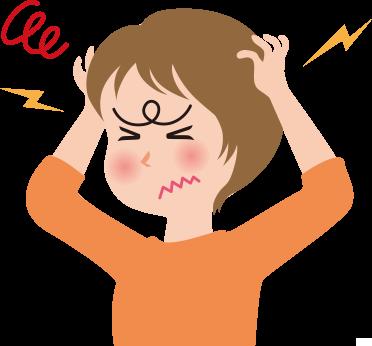 緊張型頭痛説明画像