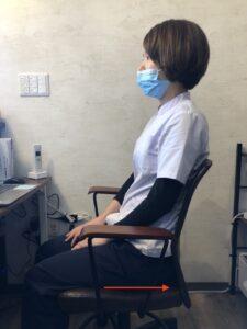 腰痛 座り方改善